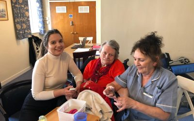 Celebrating Christmas and Investing in Activities at St Anne's Nursing Home
